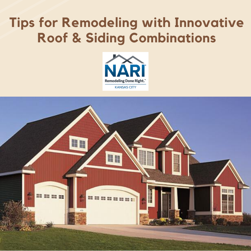 Remodel Your Home's Exterior With  Inspiring  Siding &  Roof Combinations
