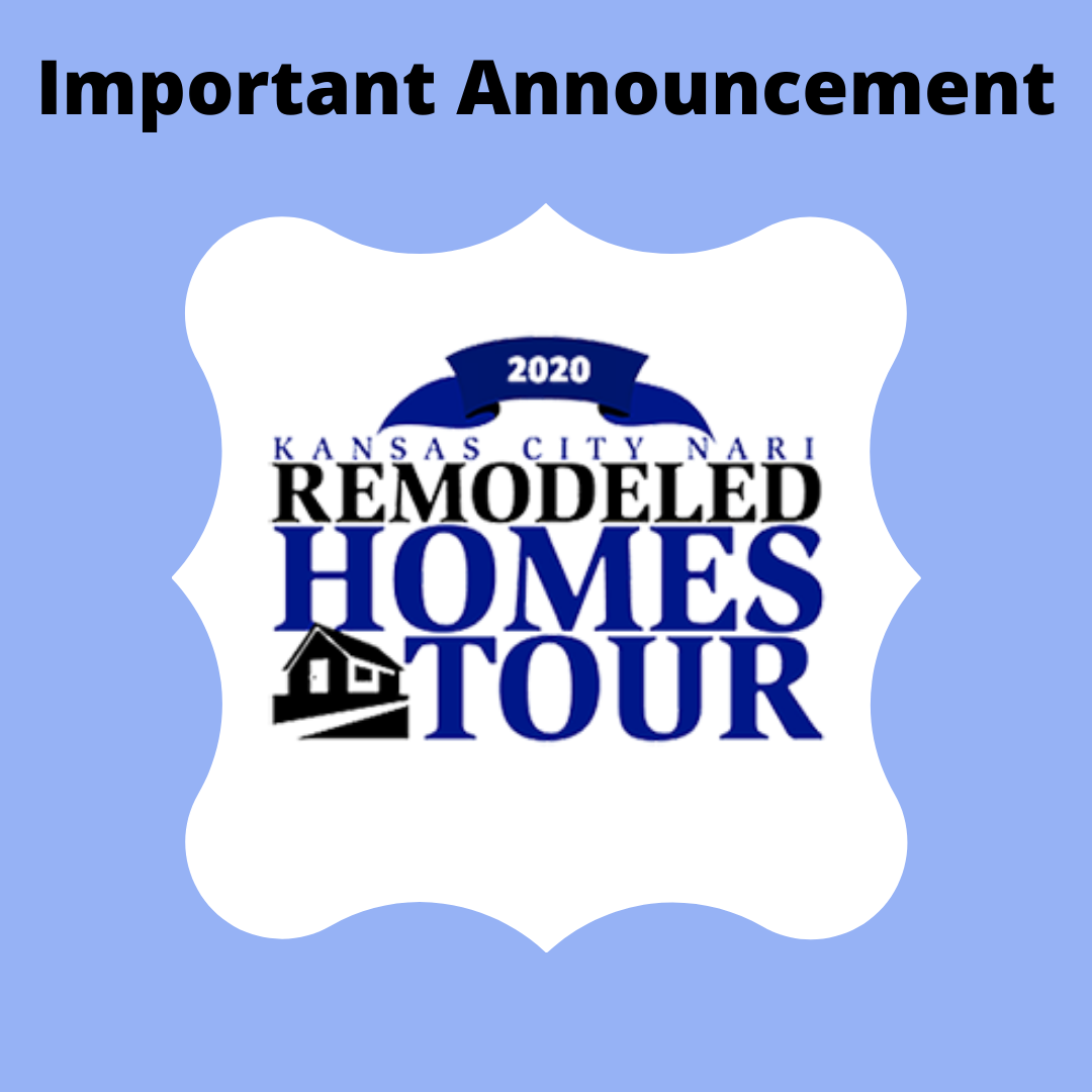 Special Announcement Regarding The 2020 Remodeled Homes Tour