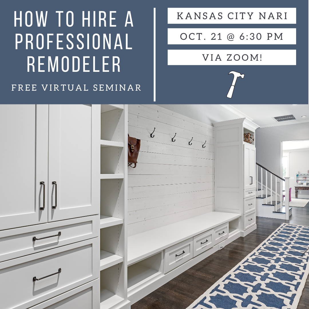 How To Hire A PRO Remodeler :: Seminar & Tips