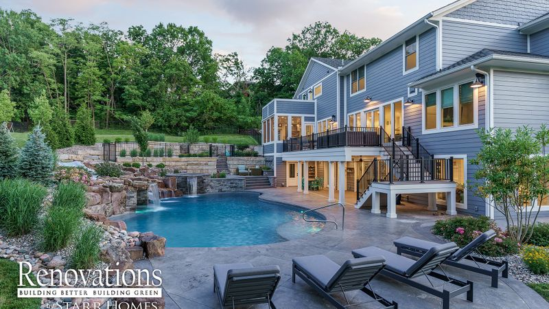 Kansas City, Pool, Outdoor Living, backyard, remodel